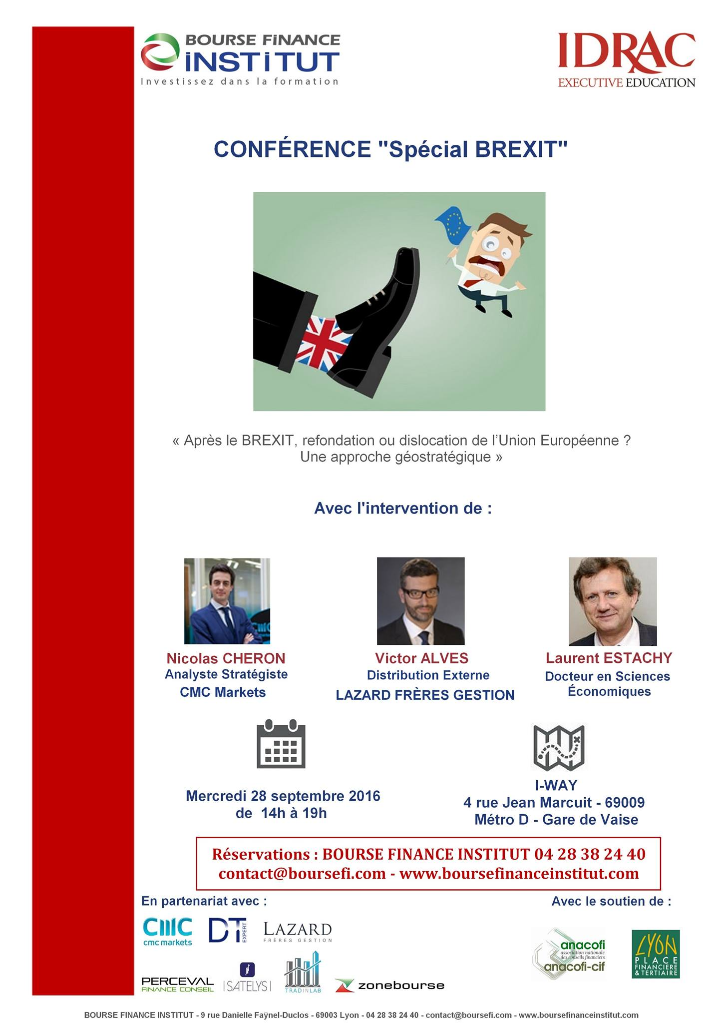 Conference Speciale Brexit - Bourse Finance Institut