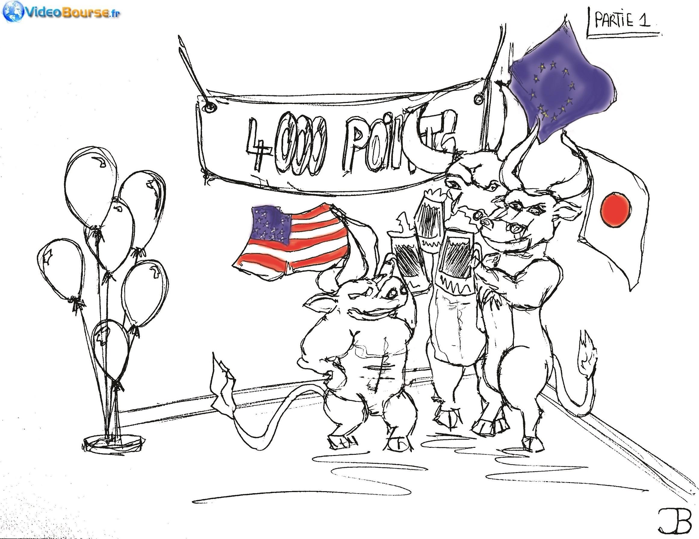 Dessins humouristiques et caricatures sur la bourse et le - Coloriage virtuel ...